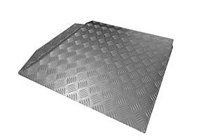 Anti-slip Aluminium Lightweight Threshold Ramps