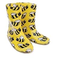 Jiglz - Bumble Bee Welly UK child size 2