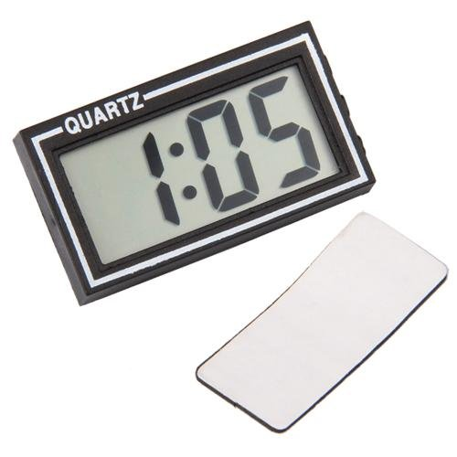CARCHET Kfz Auto LCD Multifunktions Digital Uhr Alarm Autouhr