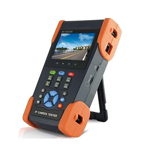 TOOGOO 3.5 Pollice 3 in 1 Ip Camera Tester CCTV Tester Monitor Analogico HD Ahd Ip Camera Test 1080P Ptz Control Poe Test, IPC3500Plus-Spina Europea