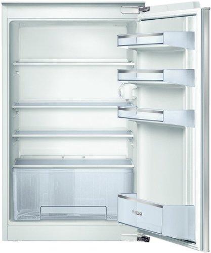 Bosch KIR18V51 Serie 2 Einbaukühlschrank / A+ / 151 L / weiß / Abtau-Automatik / Transparenter Gemüsebehälter/ Fest montiert
