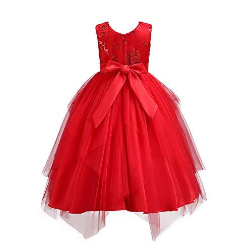 Mädchen Sommer Streifen Kurzarm Baumwolle T-Shirt Kleid 1-8 Jahre Weise Nette Baby des neuen Kleinkind -Kleidung Denim Top Sun Flower Princess ()