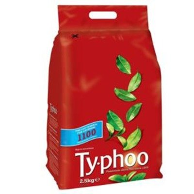 Typhoo Tea Bags Vacuum-packed 1 Cup Ref A00786 Pack 1100 745549