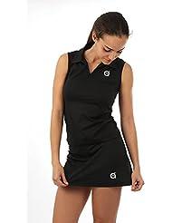 a40grados Sport & Style Fussion Basic Falda Corte Evasé, Mujer, Negro, L (42)