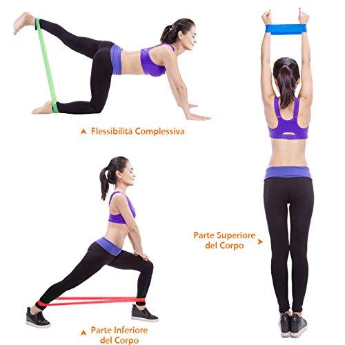 Zoom IMG-3 topelek 6 pezzi elastici fitness