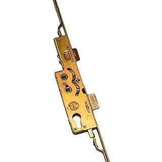 Avocet Wms Upvc Door Lock old Style 2 Hook 2 Roller Gold Plate 35mm Multi Point Door Lock