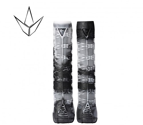 Blunt Stunt-Scooter Hand griffe V2 Soft Long + 2 x 2 Barends (weiß / schwarz)
