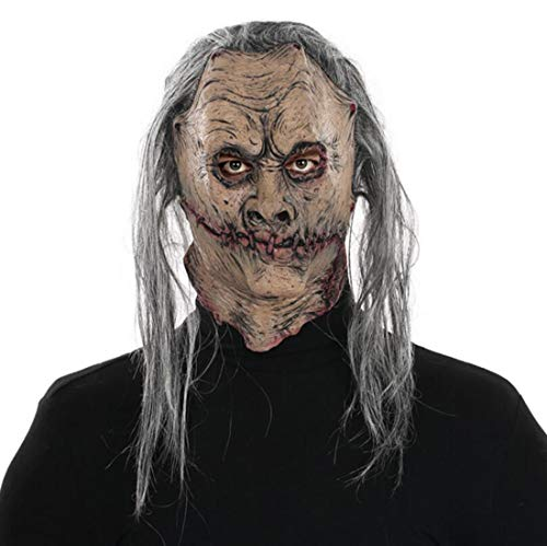 (HJJHJ Halloween Latex Maske Terrorist Bio Zombie Teufel Kopfbedeckung Haunted Haus Festival Lustige lustige Stützen)