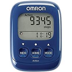 OMRON Podomètre Walking Style IV, Bleu