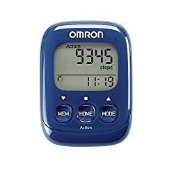 Omron HJ325-EB Walking Style IV Step Counter - Blue