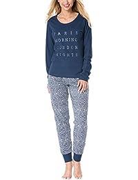 e2d58ea204 Rössli Rossli Sal-PY 1076 Women s Pyjama Set Long Sleeved Paisley Pattern
