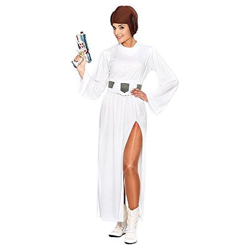 Festartikel V Galaktische Prinzessin Lea - Han Solo Und Prinzessin Leia Kostüm