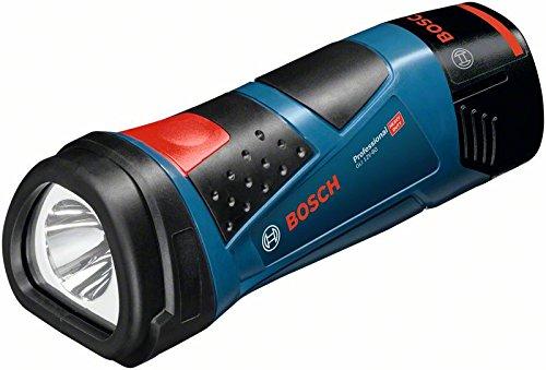 Bosch Professional GLI 12V-80 Akku-Lampe (ohne Akku, click&go ohne Ladegerät, kompatibel mit 10, 8V) 0601437V00