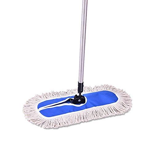 Yiiy mop di pulizia per grandi superfici con mop 2pz mop per pavimenti in legno di microfibra