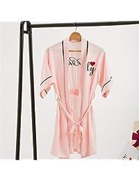 OHlive – Brides and Brides Maids Cordones Bata Cardigan Albornoz Noche Camisa, ...