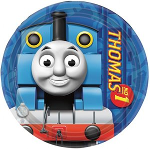 thomas-the-tank-engine-placas-del-partido-paquete-de-8