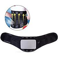 LIOOBO Soporte de Cintura autocalentable Respaldo Transpirable Térmica de Cinturón Espalda Terapia autocalentable Cojín para Artritis Espalda Abdominal Dolor para Hombres y Mujeres (XL)