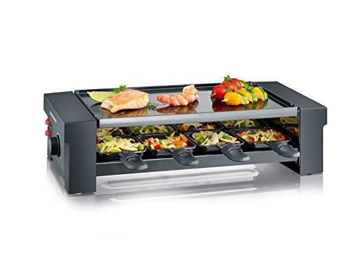 Severin RG 2687 Pizza-Raclette-Grill (1150 Watt) schwarz
