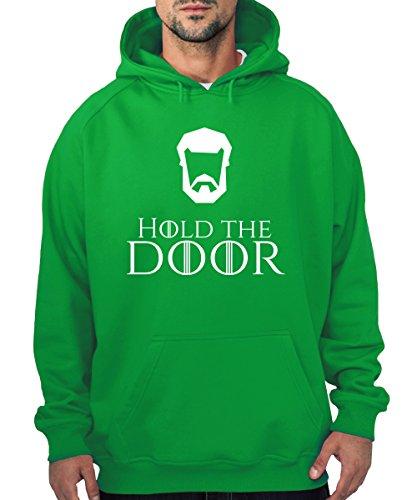 -- Hold the Door -- Boys Kapuzenpullover Kelly Green