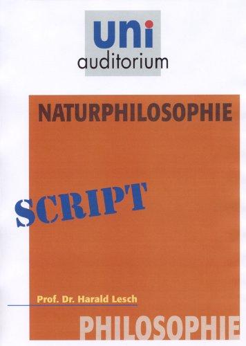 Naturphilosophie: Philosophie