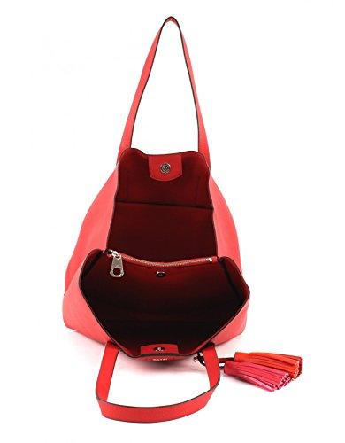Guess Damen Hwvg6954230 Schultertasche, 12.5x33.5x39 centimeters Rot (Poppy)