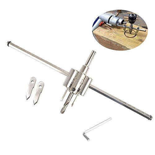 TANGGER Kreisschneider 40-300mm Lochsäge Verstellbar Einstellbar Legierung Kreislochsäge Lochteilung Holzverarbeitung Bohrer Holz Werkzeuge