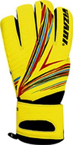 Pre-spiel Leichtathletik (Vizari Rimo f.r.f Handschuh, Gelb/Orange/Schwarz)