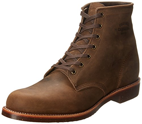 Chippewa Mens 1901M29 Crazy Horse Leather Boots 43.5 EU Chippewa Service Stiefel Männer