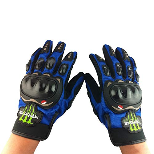 LKXL Guanti off-Road Motorcycle Gloves Wholesale Authentic Motorcycle/Electric Car Gloves Ghost Claw Knight Full Finger Gloves