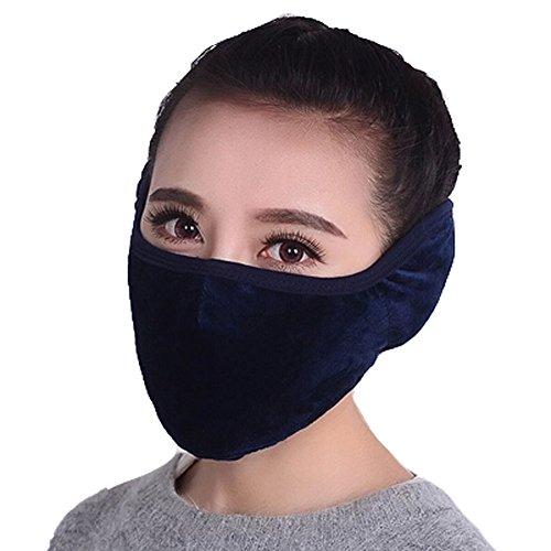Frauen-Winddichtes Kaltbeweis warme Ohren Mund (Gasmasken Zum Coole Verkauf)
