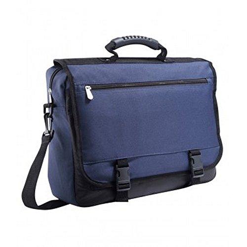 SOLS Stanford Messenger-Tasche mit Schulterriemen Marineblau