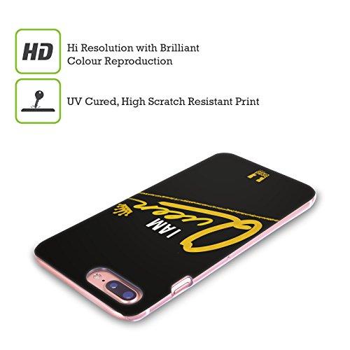 Head Case Designs Bellezza I Am Gold Gruppo Cover Retro Rigida per Apple iPhone X Regins