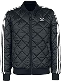 the best attitude 9d420 11ba5 adidas SST Quilted, Giacca Sottile Uomo, Nero, S