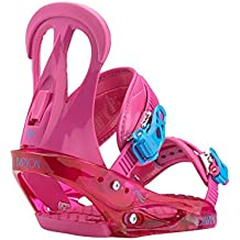 Burton Citizen Fijaciones de Snowboard para mujer, So Pink, Talla M