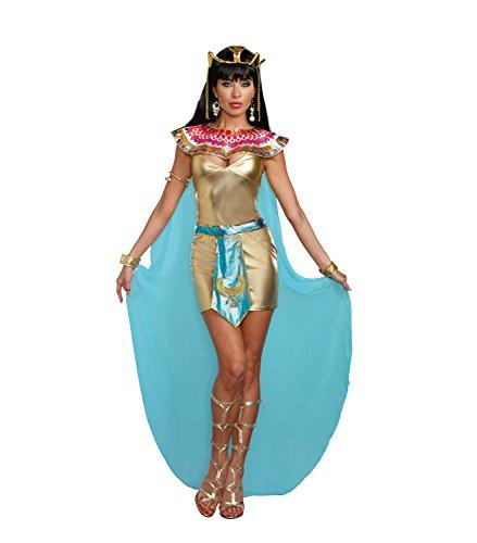 Adult Cleopatra Sexy Kostüm - Dreamgirl 9840Cleopatra Kostüm (X-Large)