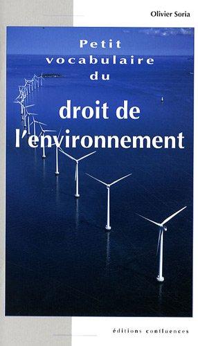 Petit vocabulaire du droit de l'environnement