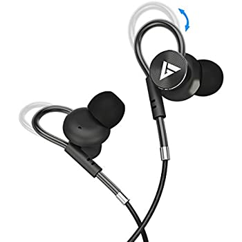 a1bf4d34c305b3 Boult Audio BassBuds Loop in-Ear Wired Earphones with Mic and Deep Bass, HD Sound  Mobile Headset with Noise Cancellation and Customizable Ear Loop ...