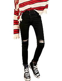 928798a465 Pizzo - Nero / Jeans / Donna: Abbigliamento - Amazon.it