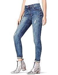 FIND Jean Skinny Customisé Femme
