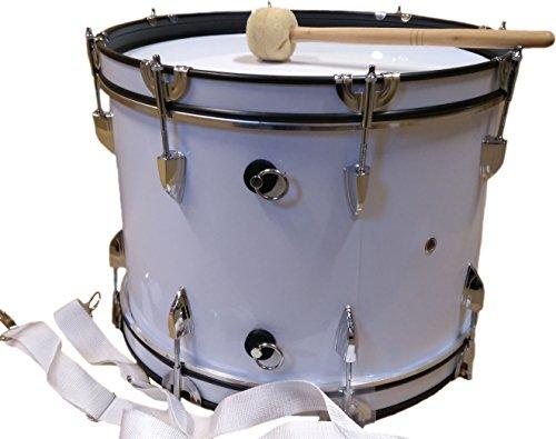 Basstrommel JWB-01 weiß 18