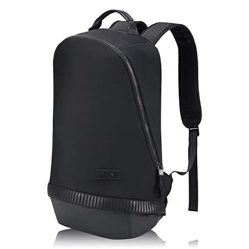 15,6 Zoll Laptop Rucksack, Mupack Cooler Rucksäcke Studenten Backpack, College Schulrucksack Computer Tasche für Frauen, Leichtgewicht Wanderrucksack für Camping/Klettern/Reisen/Fahrrad Schwarz …