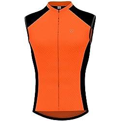 Deportes Hera Ropa Ciclismo Maillot Sin Manga Camiseta Verano de Ciclistas Hombre Cycling Sleevless
