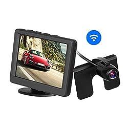 "AUTO-VOX 3.5""LCD 2.4G Wireless Rückfahr-Kamerasystem Funk-Rückfahrkamera mit 165 Grad Weitwinkel"