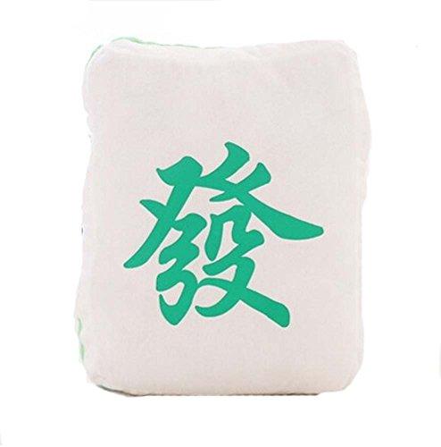 Schlafsofa Home Decor Kissen Kissen Lustige Mahjong Kissen, Grün