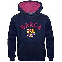 FC Barcelona - Jungen Fleece-Hoody mit Grafik-Print - Offizielles Merchandise - Geschenk für Fußballfans