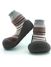 Attipas- Zapatos Primeros Pasos -Modelo Modern-Color Marrón- Talla 20