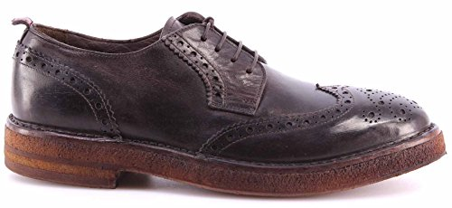 Scarpe Uomo MOMA 54505-TB Hannover TMoro Business Derby Brogue Vintage Italy New