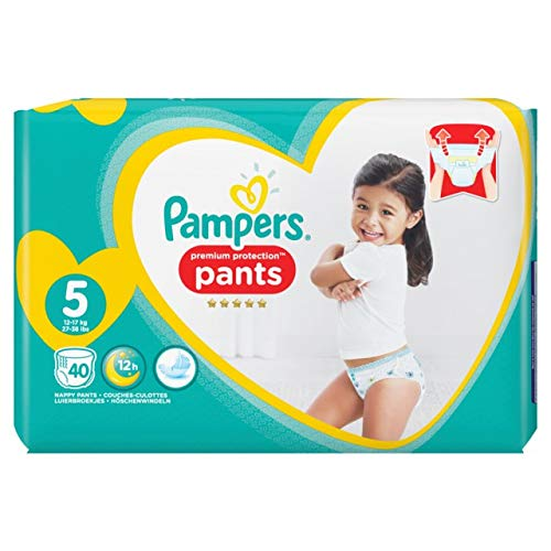 Pampers Premium Protection Pants Gr.5 Junior 12-17kg Jumbopack, 40 Stück