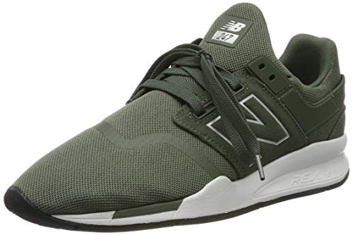 New Balance Herren 247v2 Sneaker, Weiß Team Royal, 45 EU -