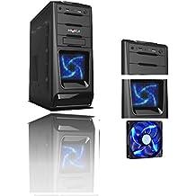 PC DESKTOP INTEL QUAD CORE CASE ALANTIK BLUE CASC02 CON LICENZA WINDOWS 10 PROFESSIONAL 64 BIT ORIGINALE RAM 8GB RAM HD 1TB HDMI DVI VGA DVD-RW 500W WIFI INCLUSO PC FISSO INTEL QUAD CORE 2 GHZ COMPLETO ASSEMBLATO PRONTO ALL'USO DVI/VGA/HDMI USB 2.0 USB 3.0 VELOCE COMPLETO ED ELEGANTE PER USO UFFICIO CASA AZIENDA INTERNET SOCIAL NETWORK- RGDIGITAL OFFICE LINE 8G WIN10
